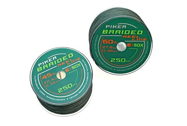 Drennan E-Sox Braided Reel Line - 250m Olive