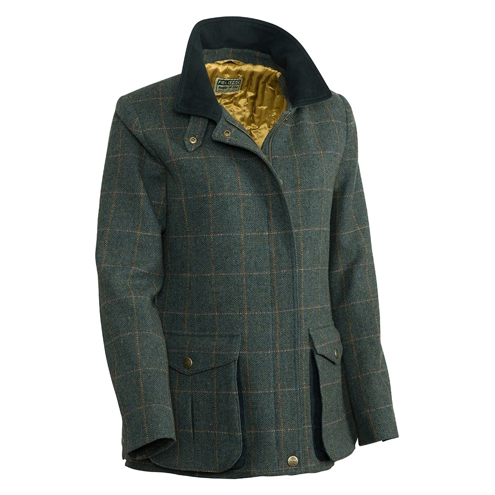 HOGGS OF FIFE Hoggs Sherborne Ladies Lambswool Field Coat