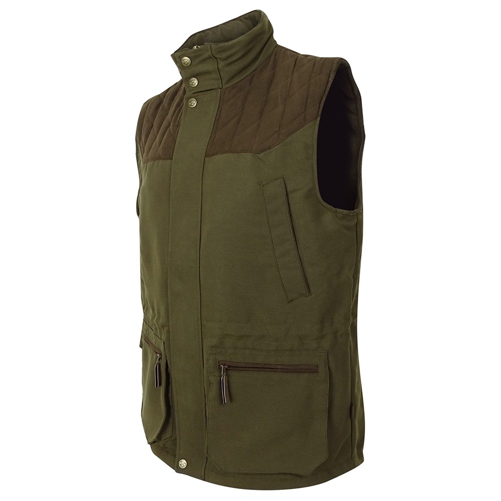 Hoggs Of Fife Hoggs of Fife Kincraig Field Waistcoat - Olive