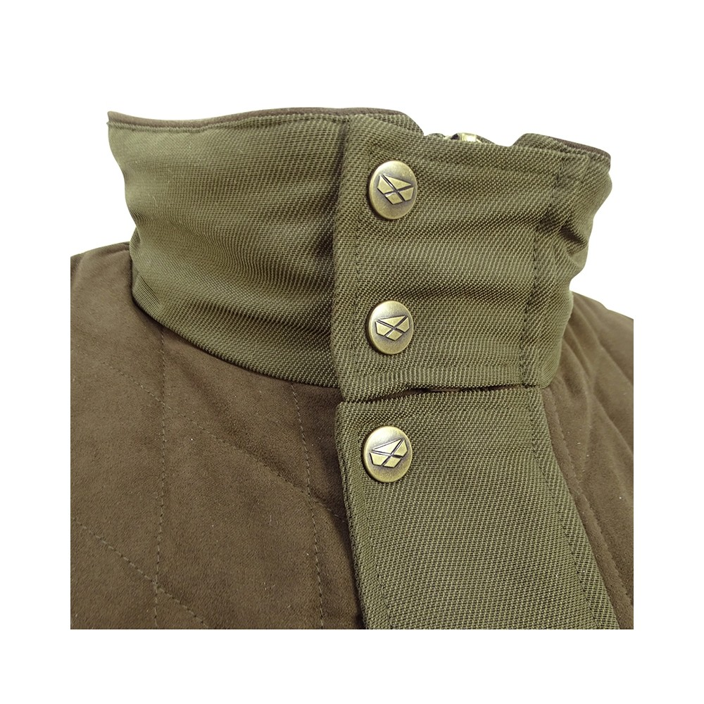 Hoggs Of Fife Hoggs of Fife Kincraig Field Waistcoat - Olive Green