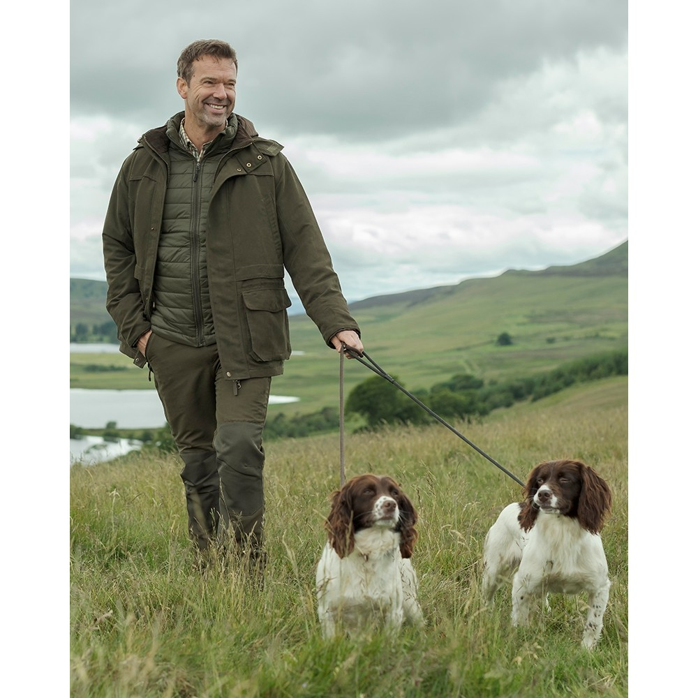 HOGGS OF FIFE Hoggs of Fife Kincraig Waterproof Field Trousers - Olive Green