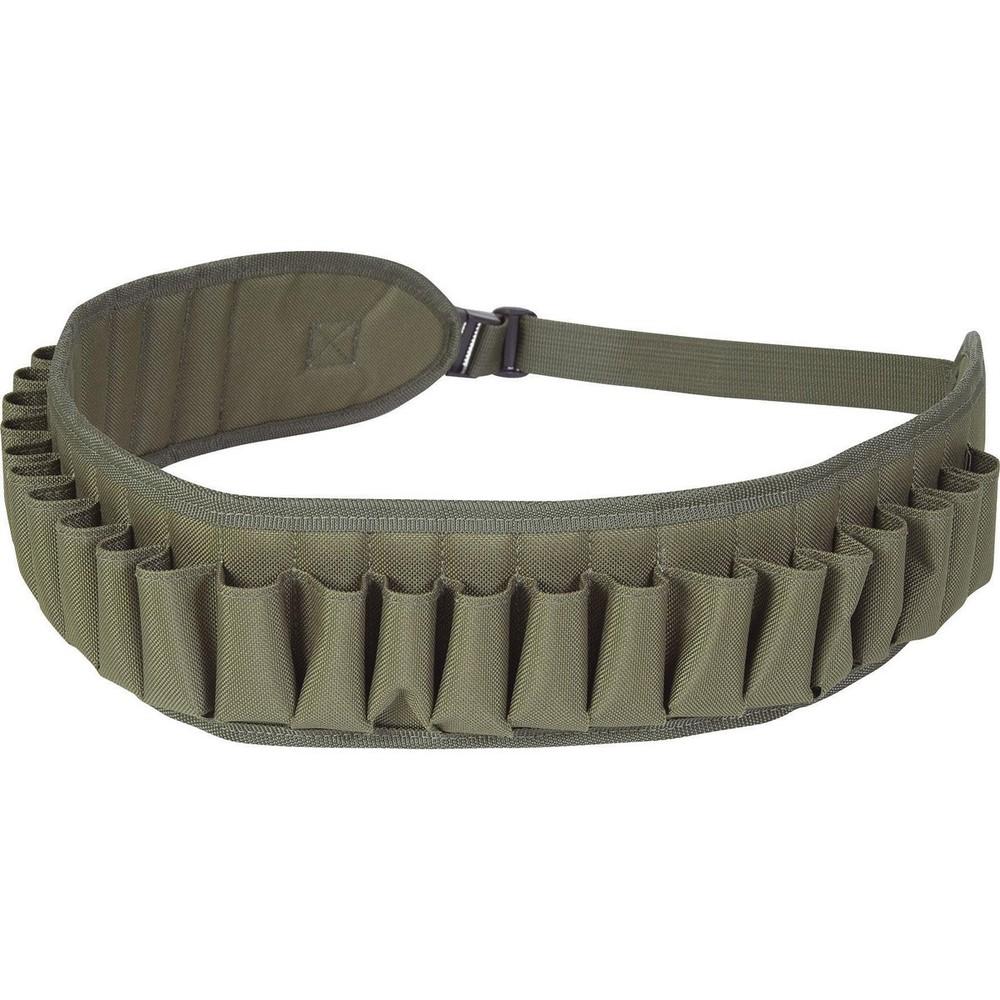 Jack Pyke Canvas Cartridge Belt - 12 Gauge Green