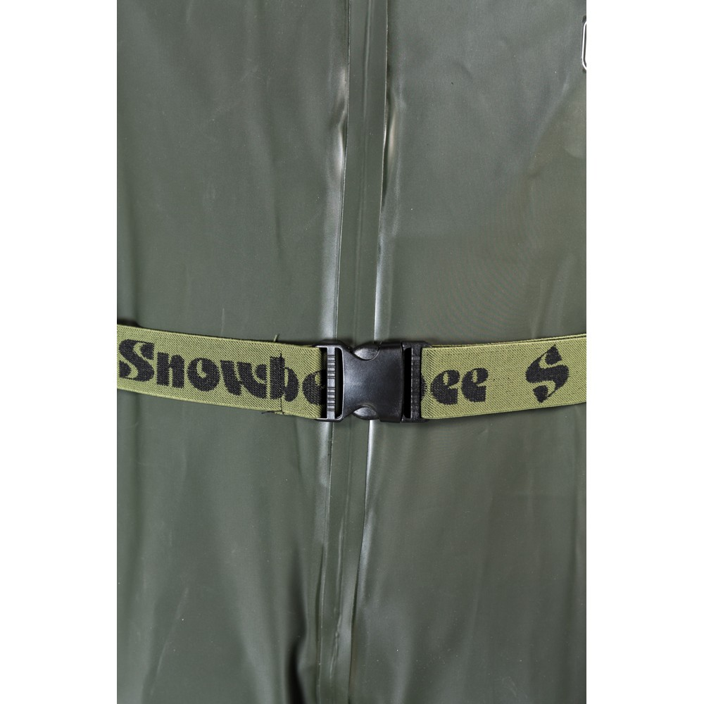 Snowbee Granite PVC Chest Waders Green