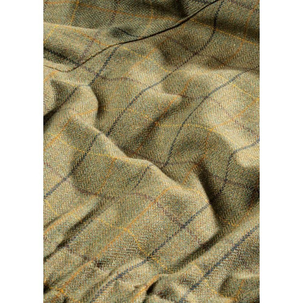 Alan Paine Rutland Tweed Coat - Dark Moss Dark Moss