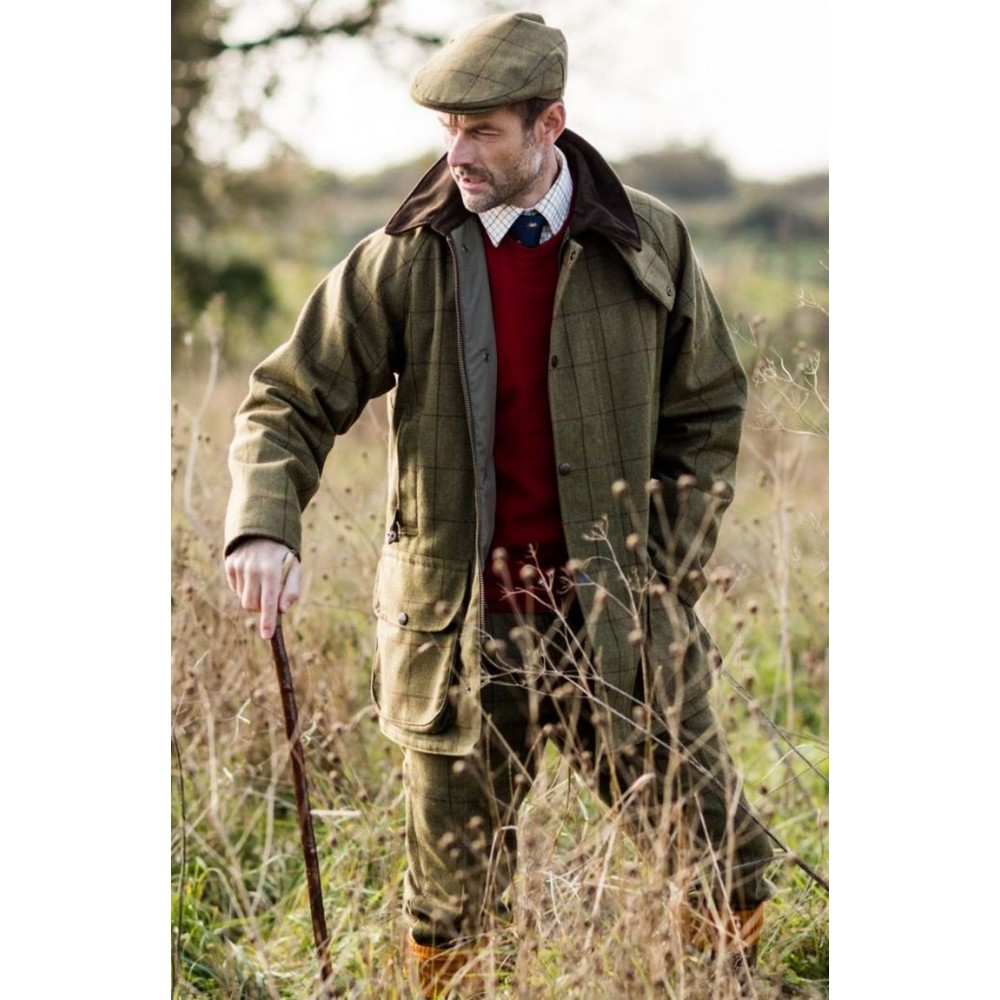 Alan Paine Rutland Tweed Breek Lichen