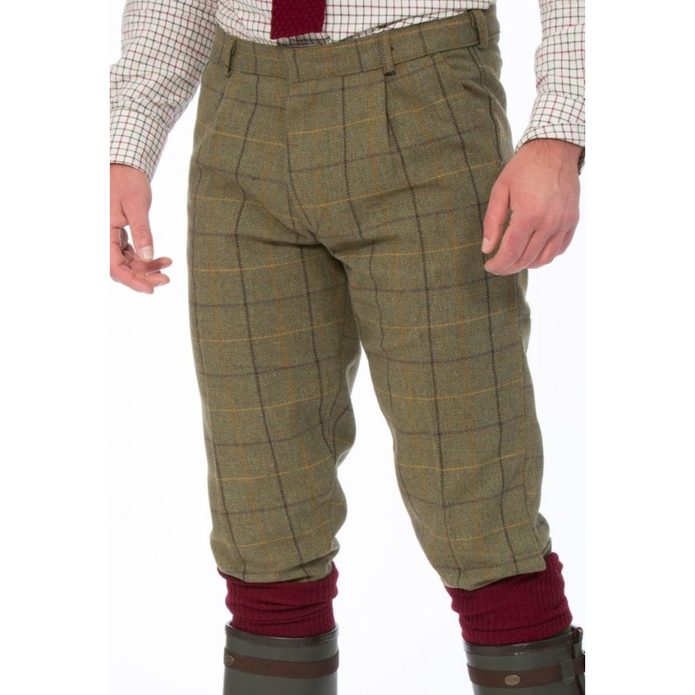 Alan Paine Rutland Tweed Breek Dark Moss
