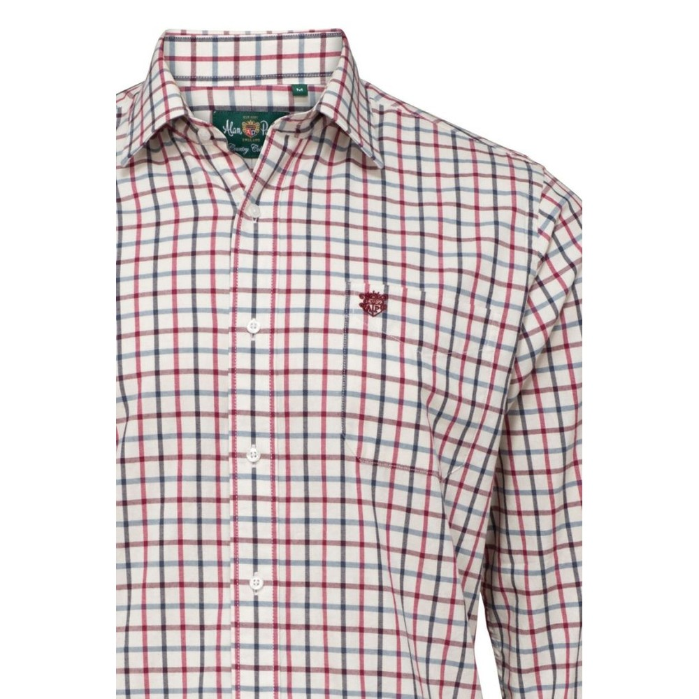 Alan Paine Ilkley Mens Shirt Red