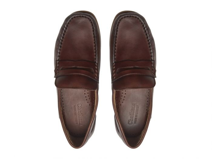 Chatham Faraday Loafer Shoe - Coffee Coffee