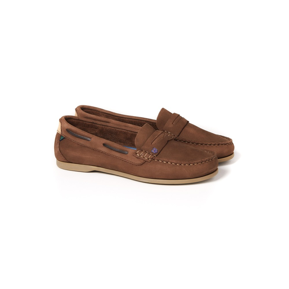 Dubarry Dubarry Belize Deck Shoe - Cafe