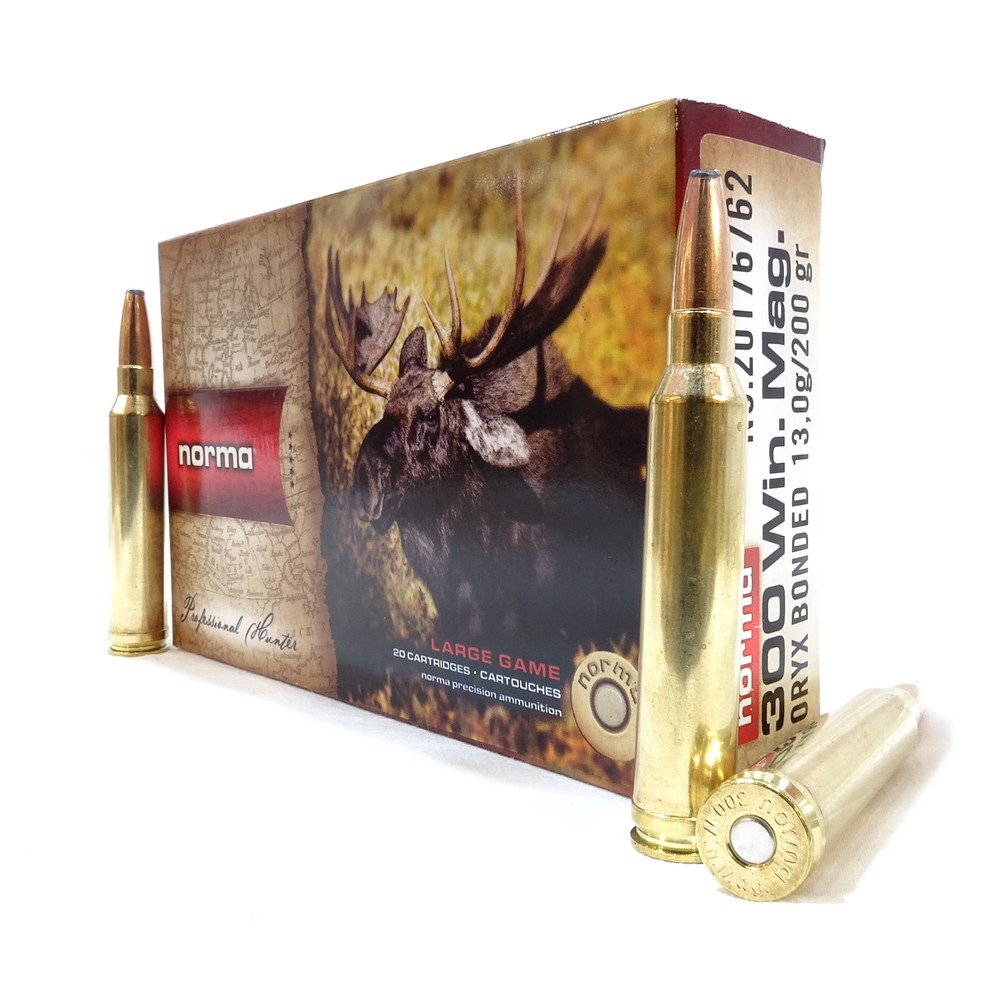 Norma .300 Win Mag Ammunition - 200gr - Oryx Unknown