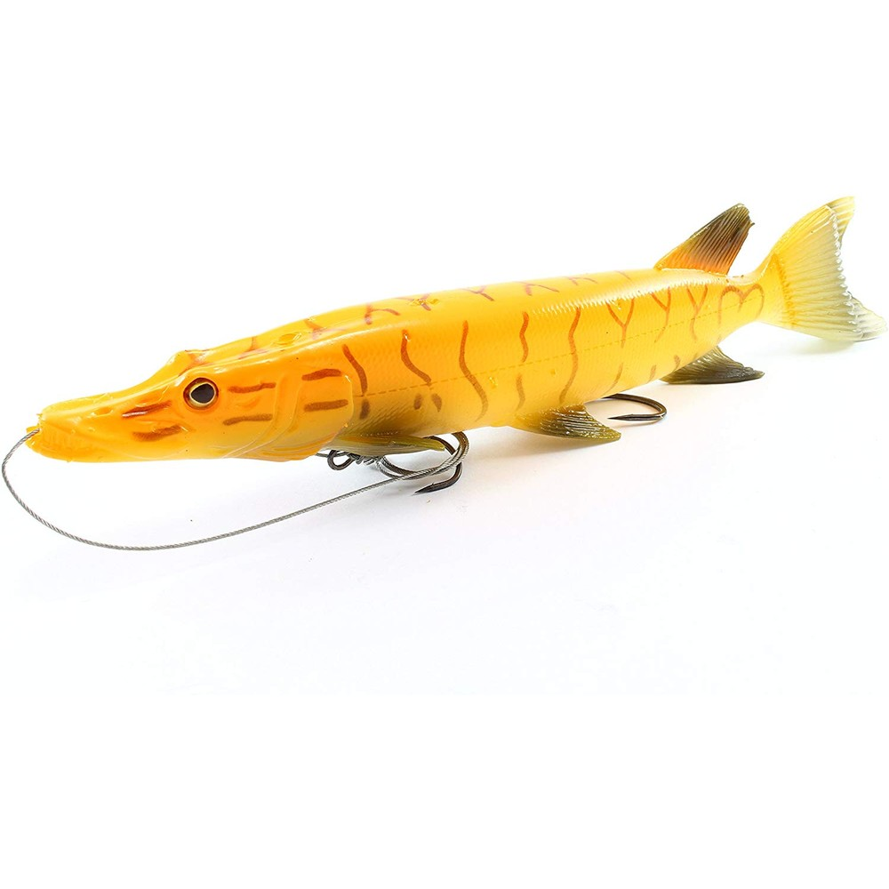 Savage Gear SG 3DThru Pike Albino Orange