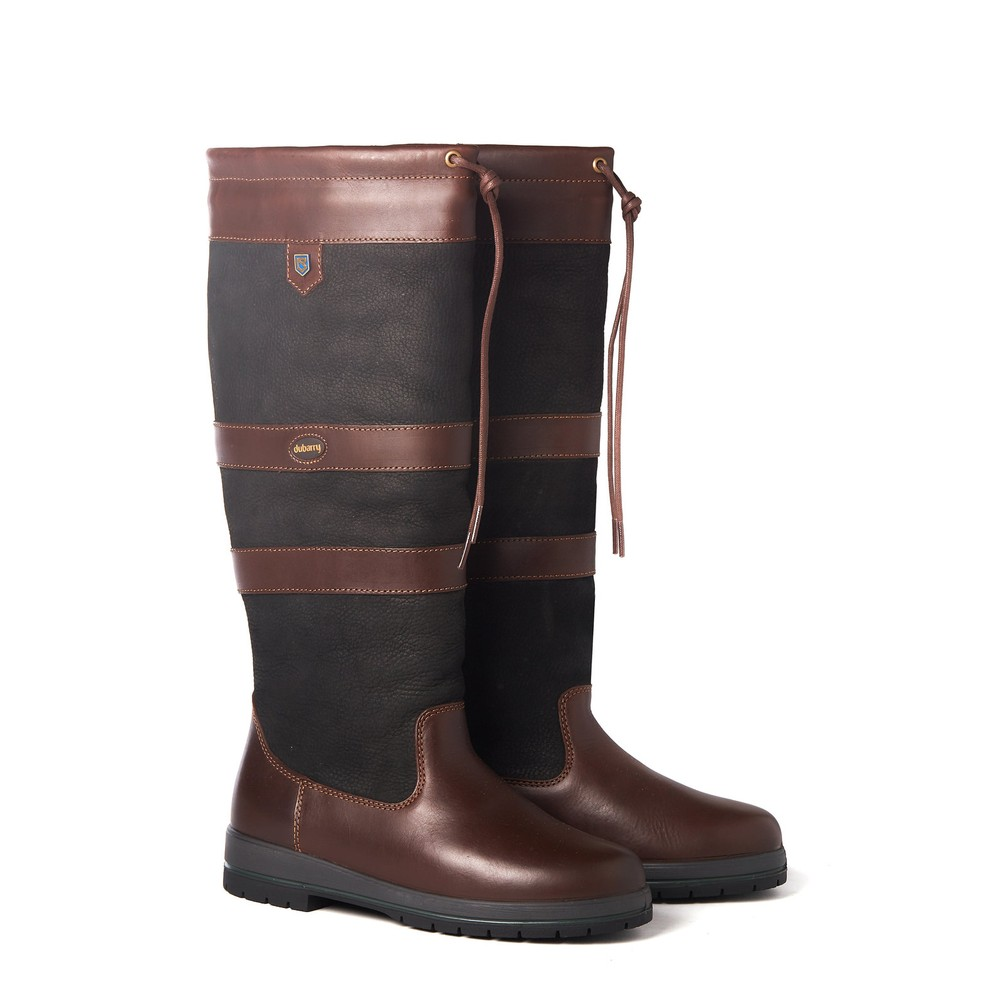 Dubarry Dubarry Galway ExtraFit Boot - Black/Brown