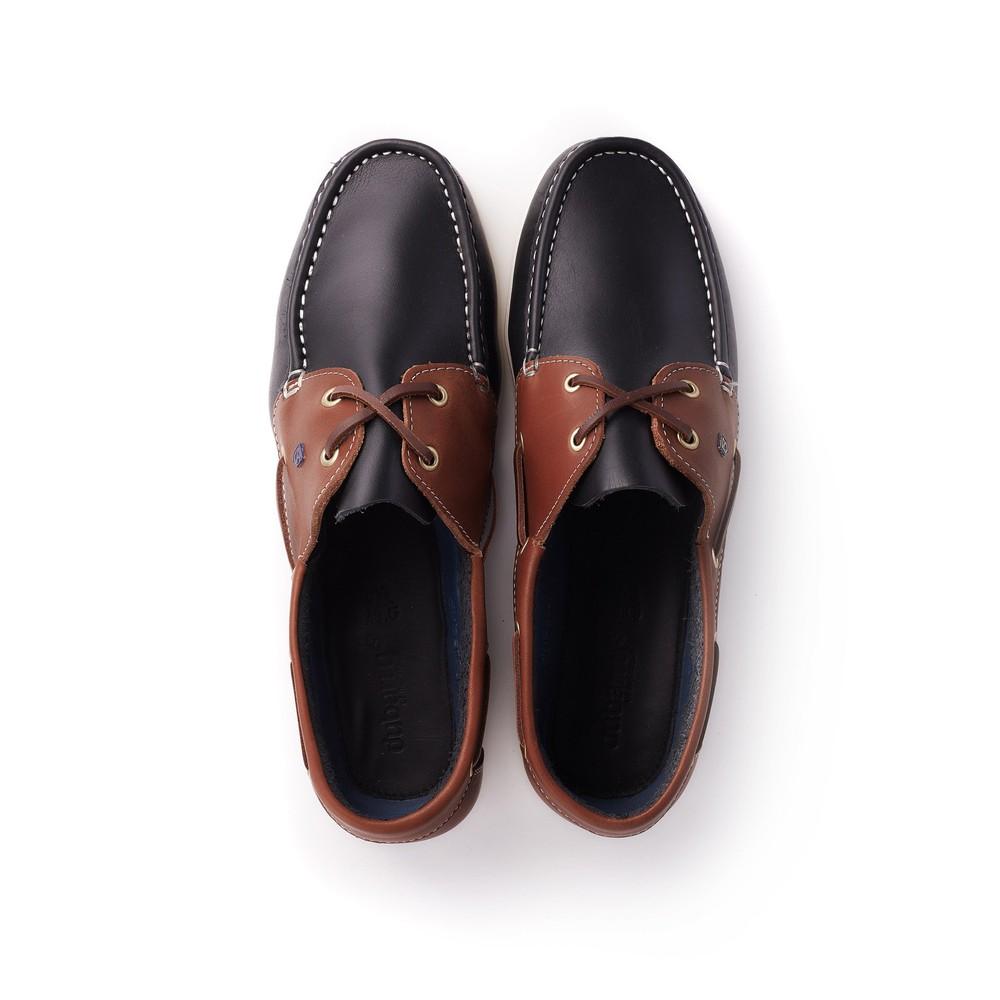 Dubarry Admirals Deck Shoe - Navy/Brown Navy/Brown