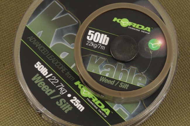 Korda Kable Advanced Leadcore - Weed/Silt