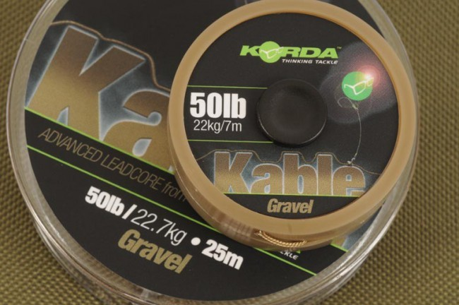 Korda Kable Advanced Leadcore - Gravel 7m