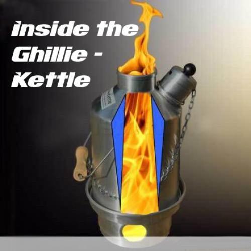 Ghillie Kettle Company Ghillie Kettle - The Adventurer - Aluminium - 1.5L