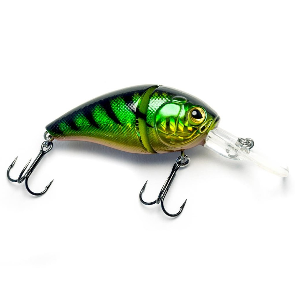 Drennan E-Sox Wag Lure - 6cm Green Perch