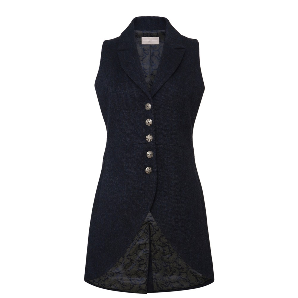 Anna Lascata Anna Tweed Waistcoat