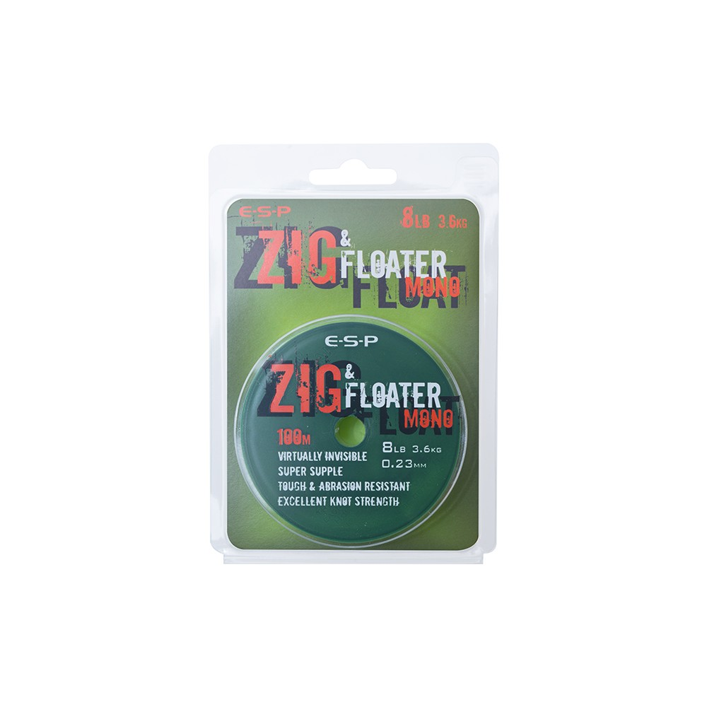 ESP Zig & Floater Mono - 100m Transparent
