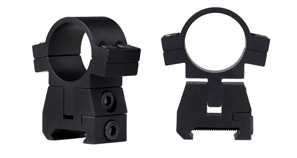 FX No-Limit Adjustable Scope Mounts - Picatinny Picatinny