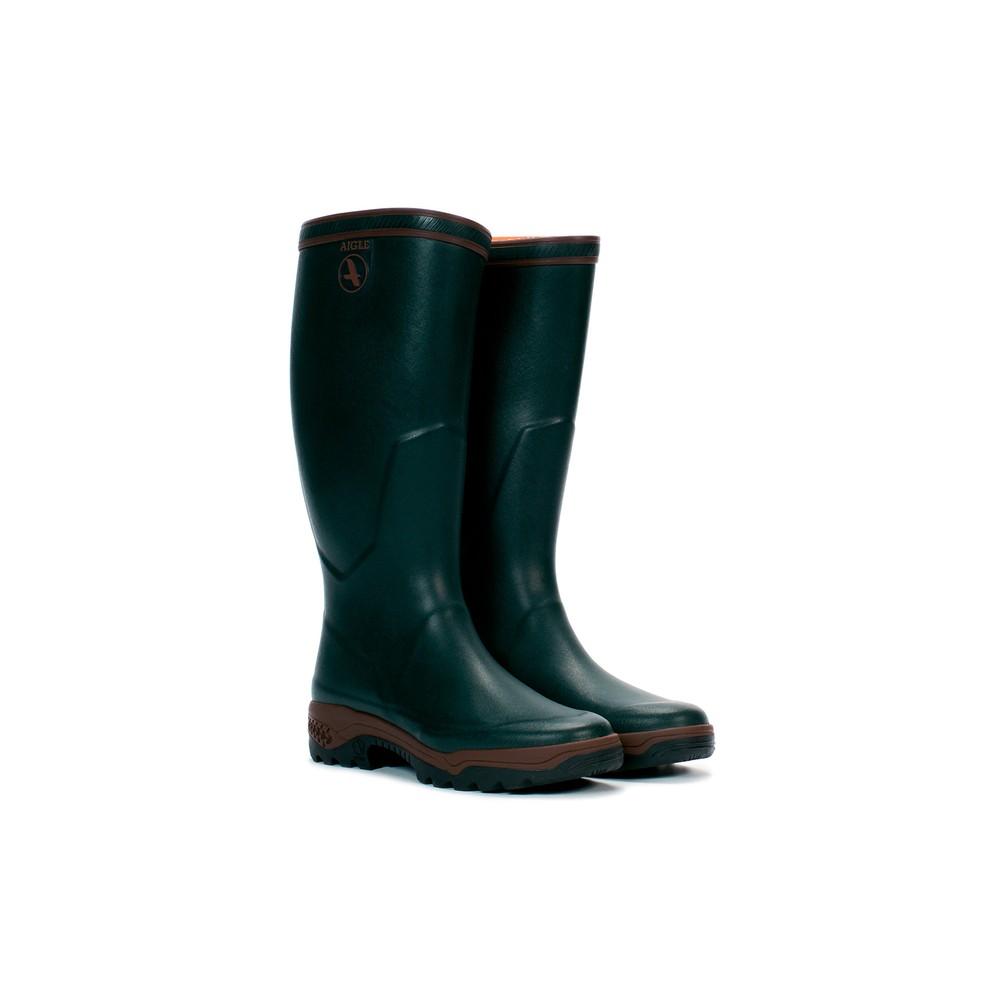 Aigle Parcours 2 Wellington Boots Bronze