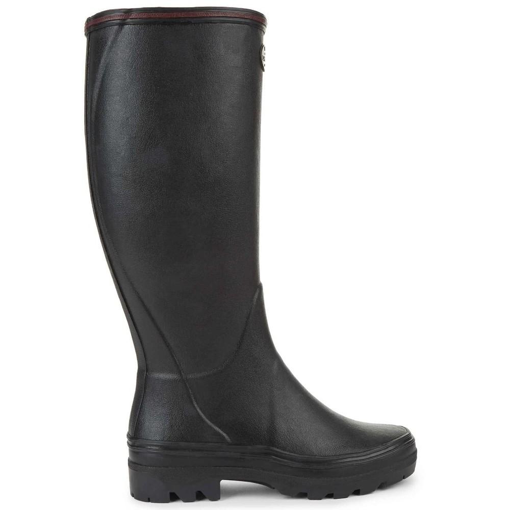 Le Chameau Giverny Ladies Wellington Boots Noir