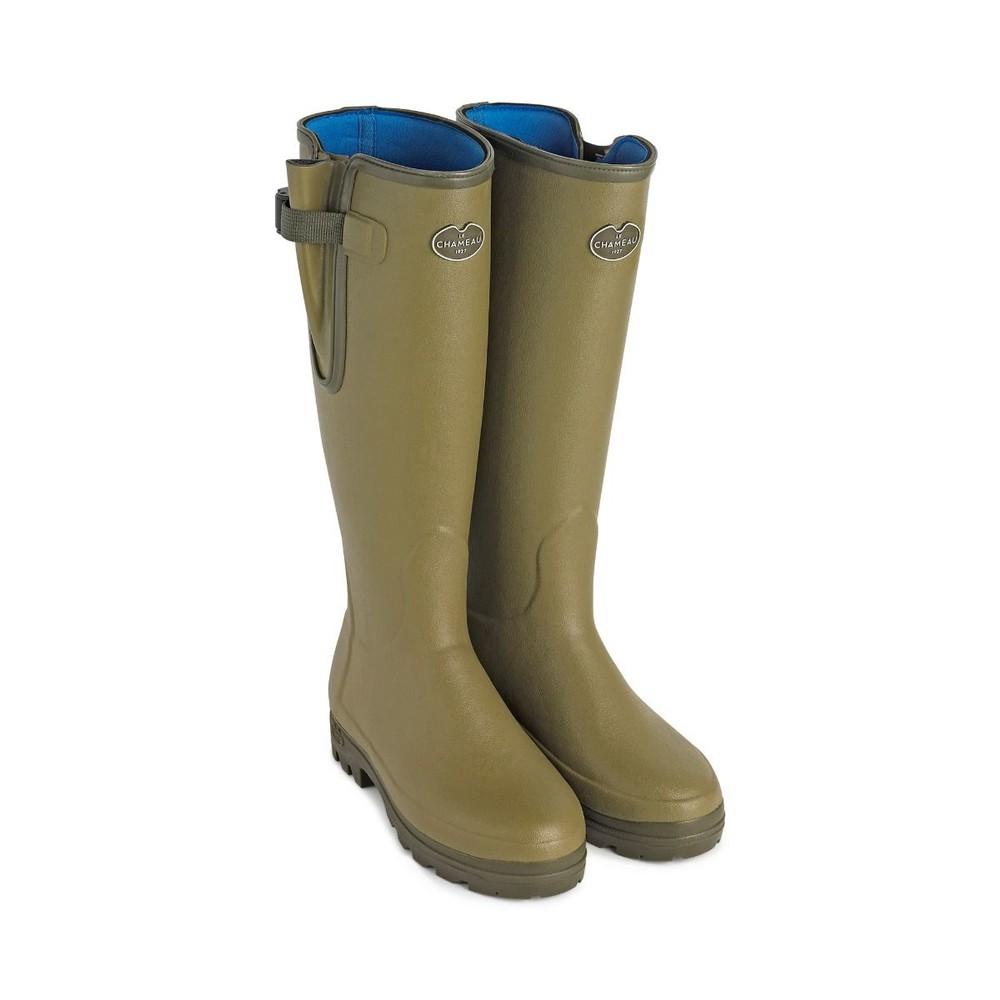 Le Chameau Le Chameau Vierzonord Neoprene Lined Women's Wellington Boots