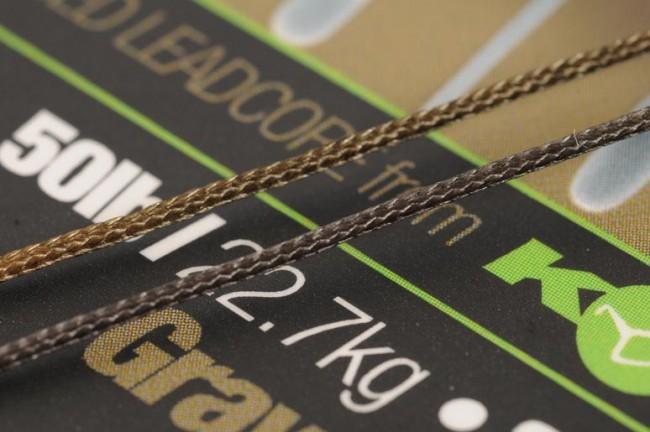 Korda Kable Advanced Leadcore - Weed/Silt Weed/Silt