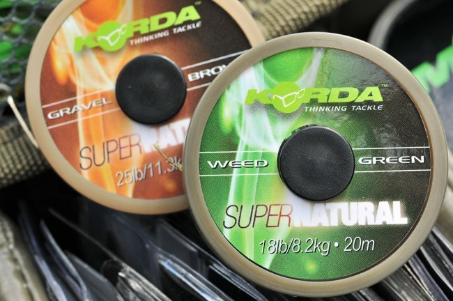 Korda Korda Supernatural - Weedy Green in Gravel Brown
