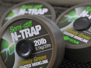 Korda N-Trap Semi Stiff Coated Hooklink - 20m