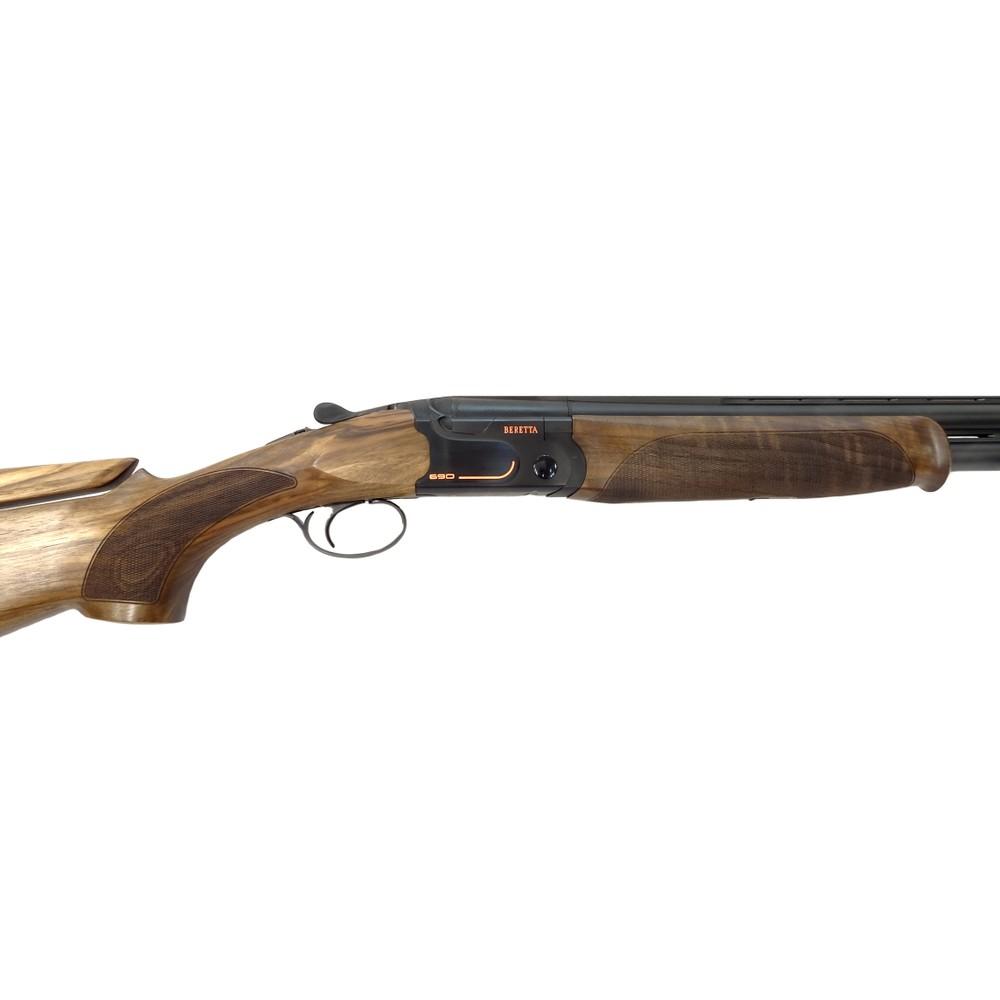 Beretta 690 Sporting Black Adjustable Shotgun - 12 Gauge Walnut