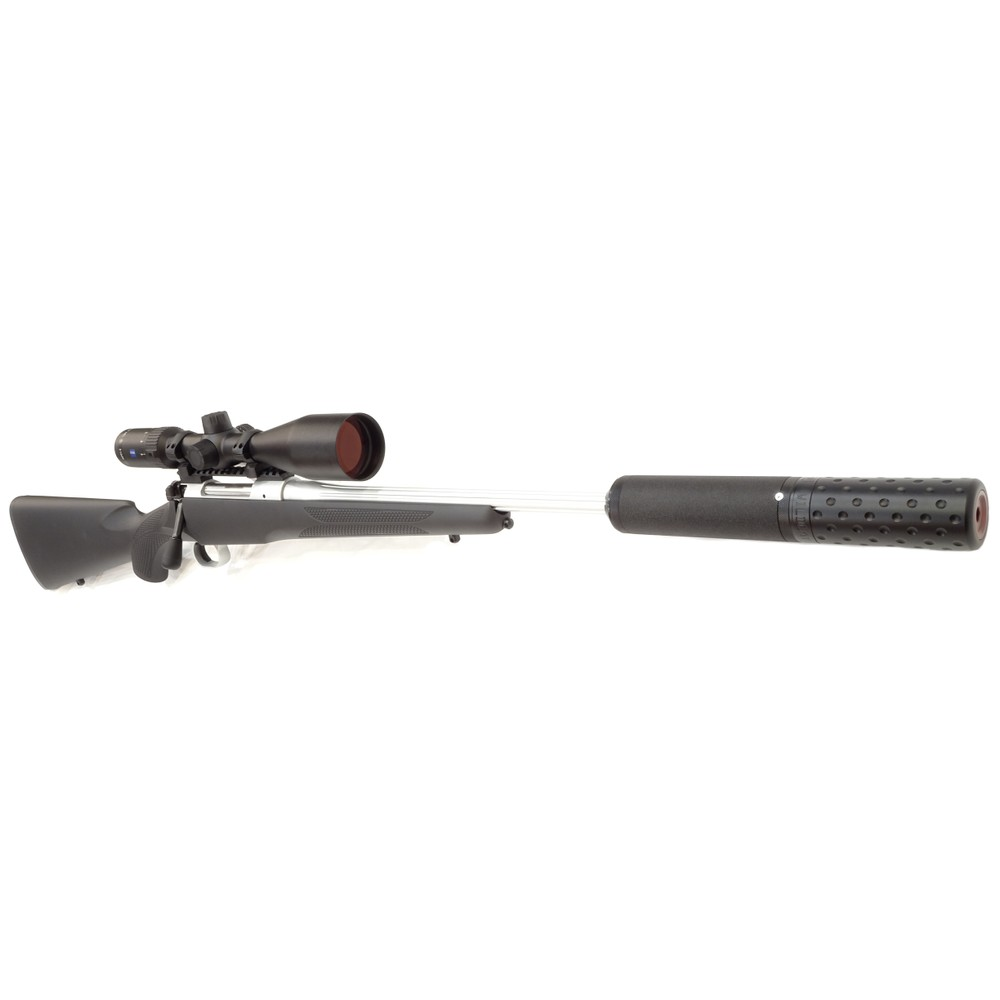 Mauser M12 Impact Rifle Package - Silver - .30-06 Synthetic