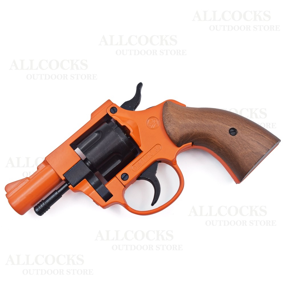 Bruni Olympic 5 Blank Firing Revolver - .38 Cal/9mm RK