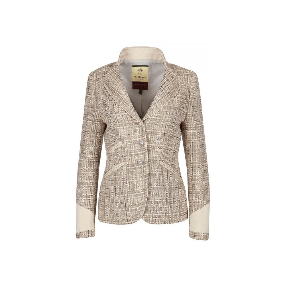Welligogs Welligogs Venice Fitted Jacket - Pale Gold