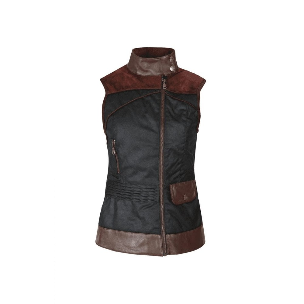 Welligogs Roxy Wax Gilet Chocolate