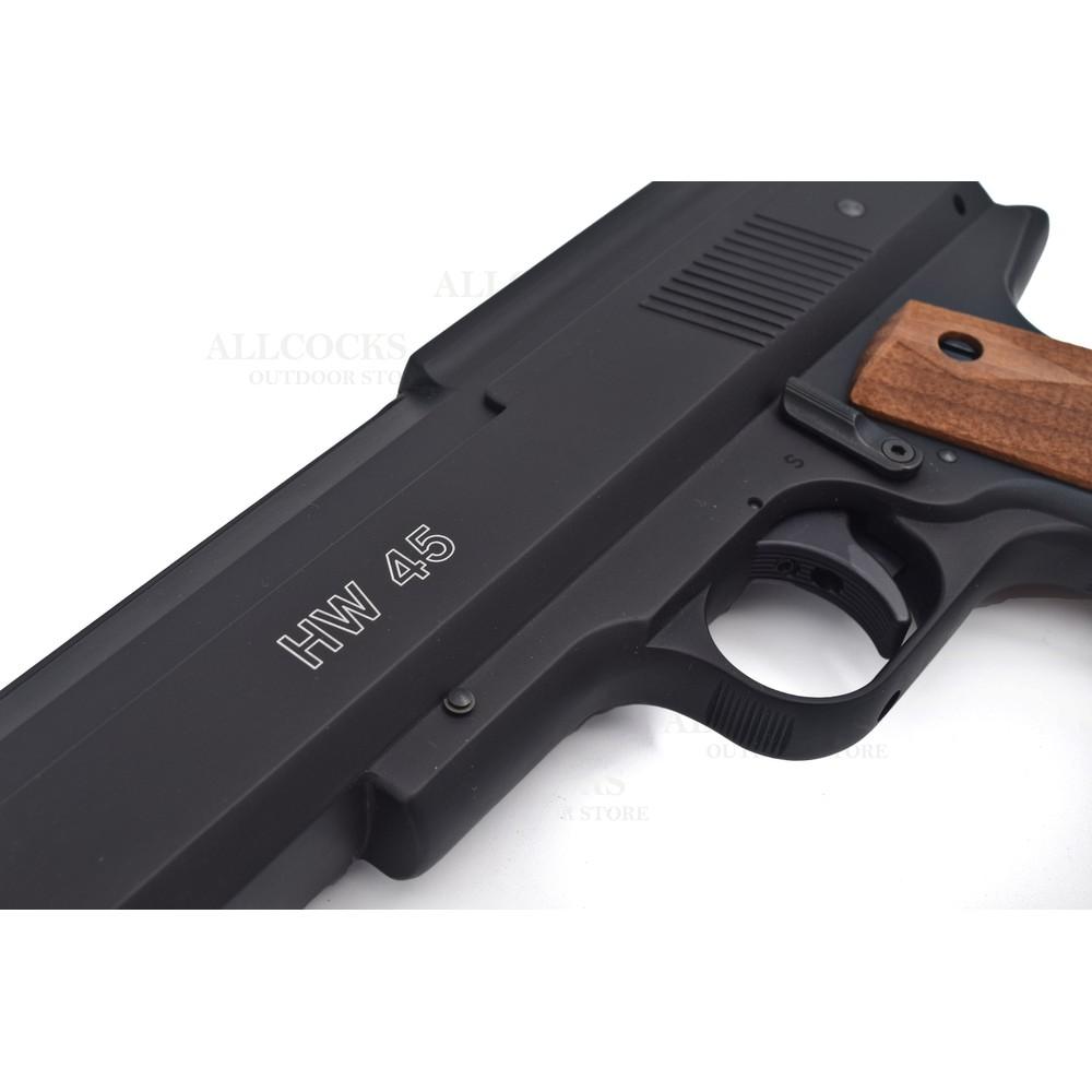 Weihrauch HW45 Air Pistol Walnut
