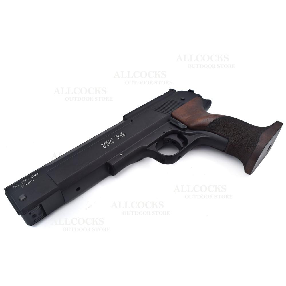 Weihrauch HW75 Air Pistol - .177 Walnut