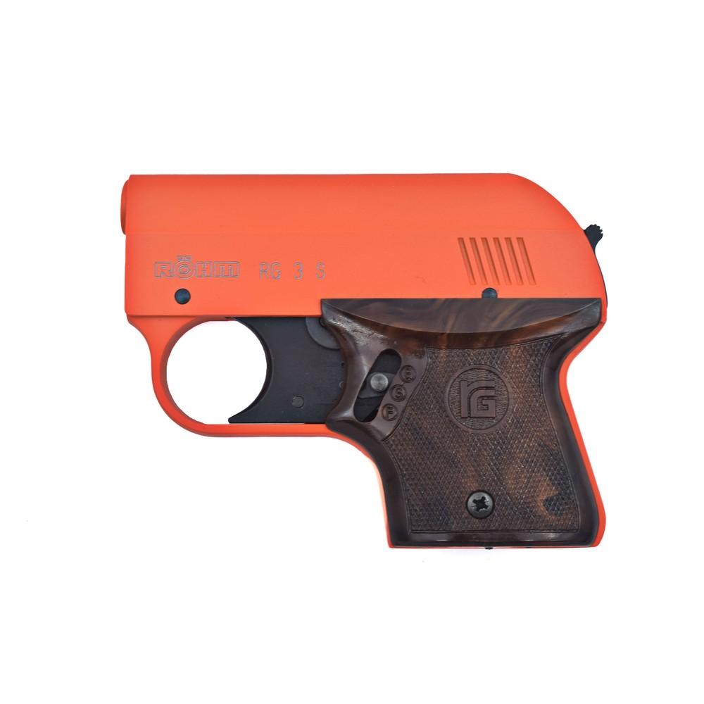 Rohm RG3 Blank Firer - .22 Short / 6mm Flobert K Orange