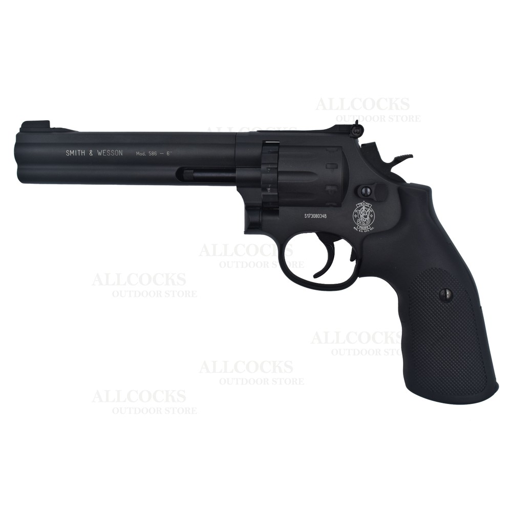 Umarex Smith & Wesson 586 CO2 Air Pistol - 6""