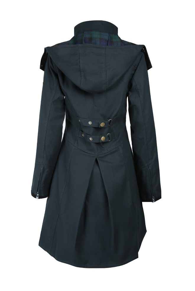 Welligogs Odette Coat - Navy Navy
