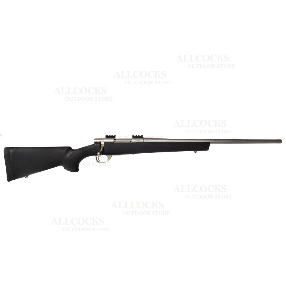 Howa 1500 Rifle - Black Hogue Stock Stainless
