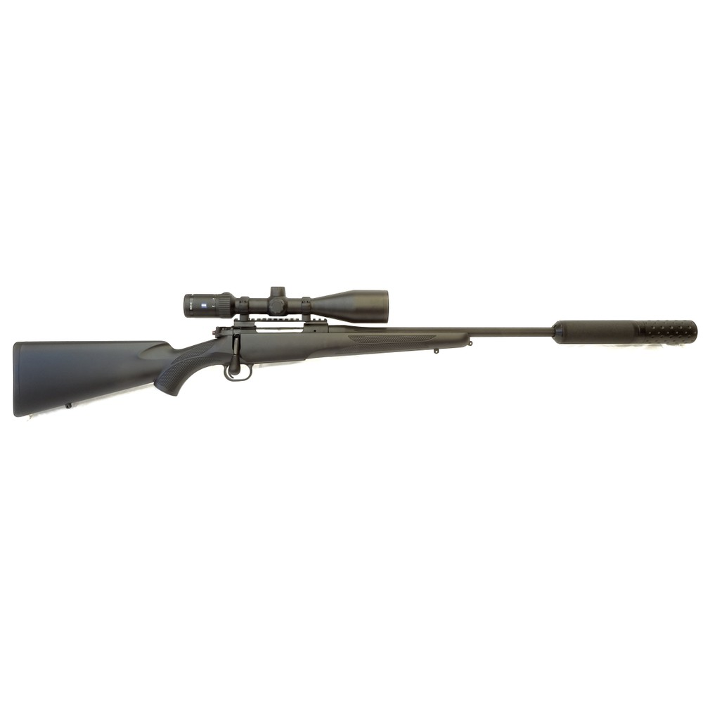 Mauser M12 Impact Rifle Package - Black - .243
