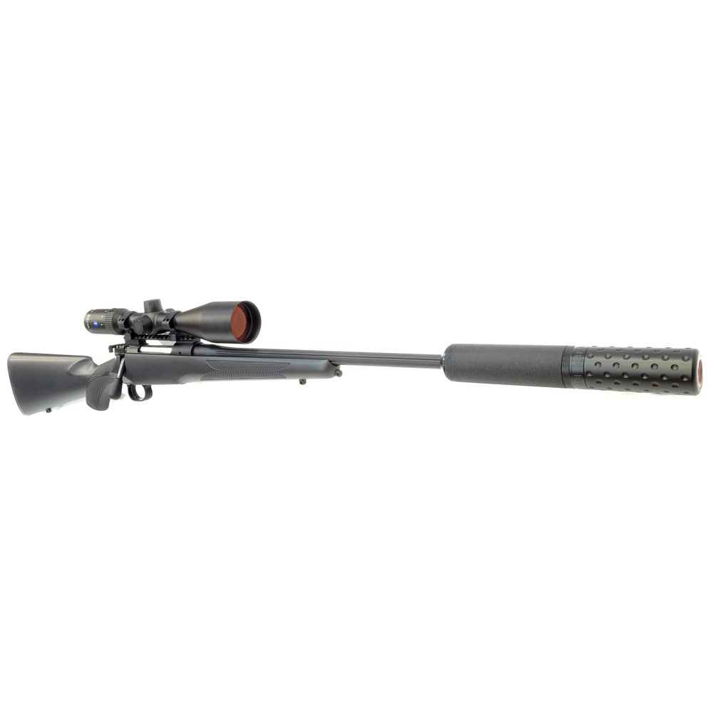 Mauser M12 Impact Rifle Package - Black - .243 Synthetic