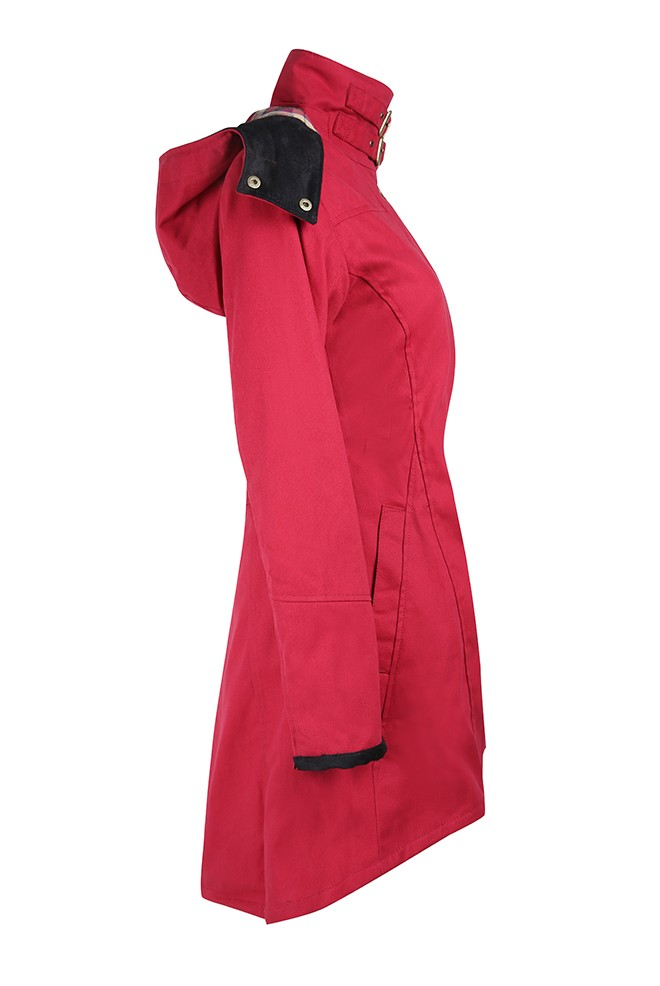 Welligogs Odette Coat Cranberry