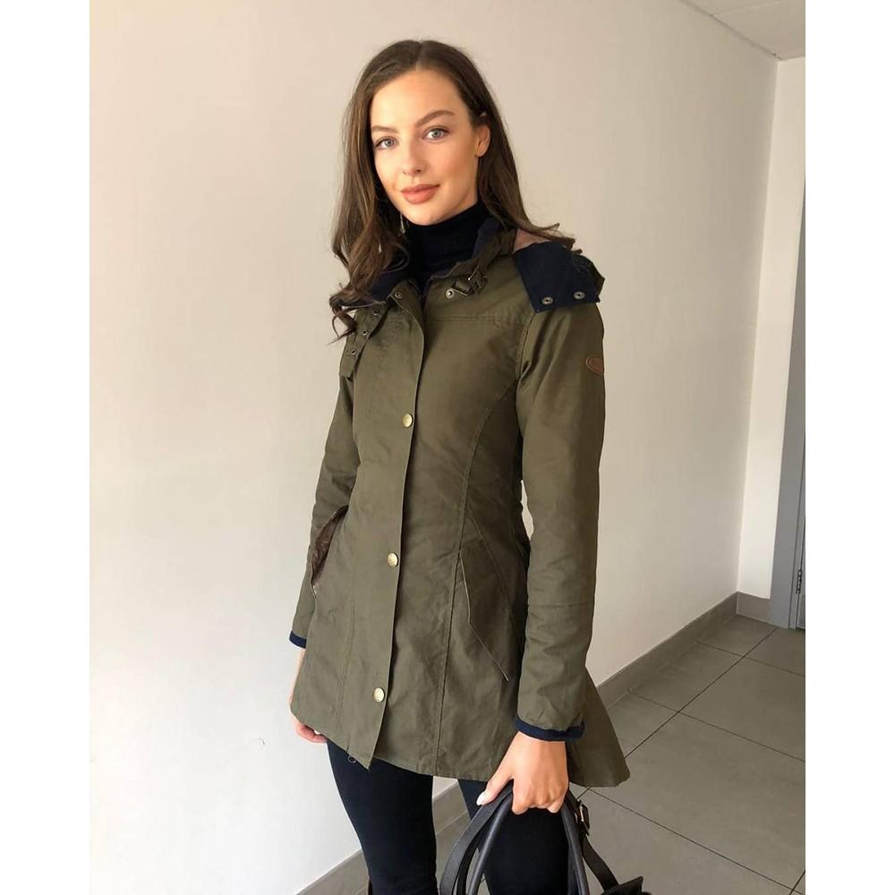 Welligogs Louise Coat - Khaki Khaki