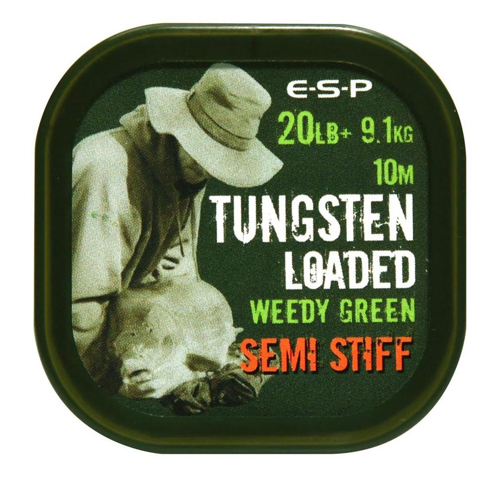 ESP Tungsten Loaded Coated Braid - Weedy Green Weedy Green