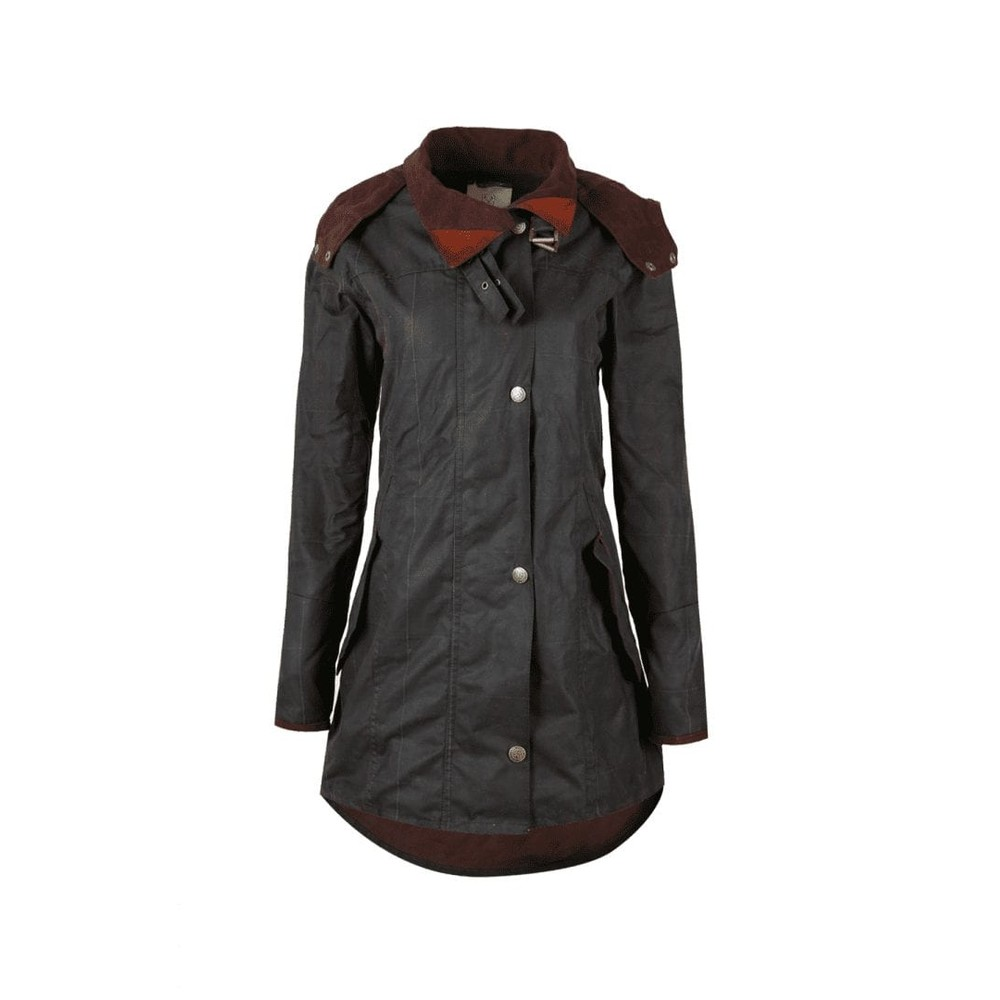 Welligogs Louise Waxed Cotton Coat