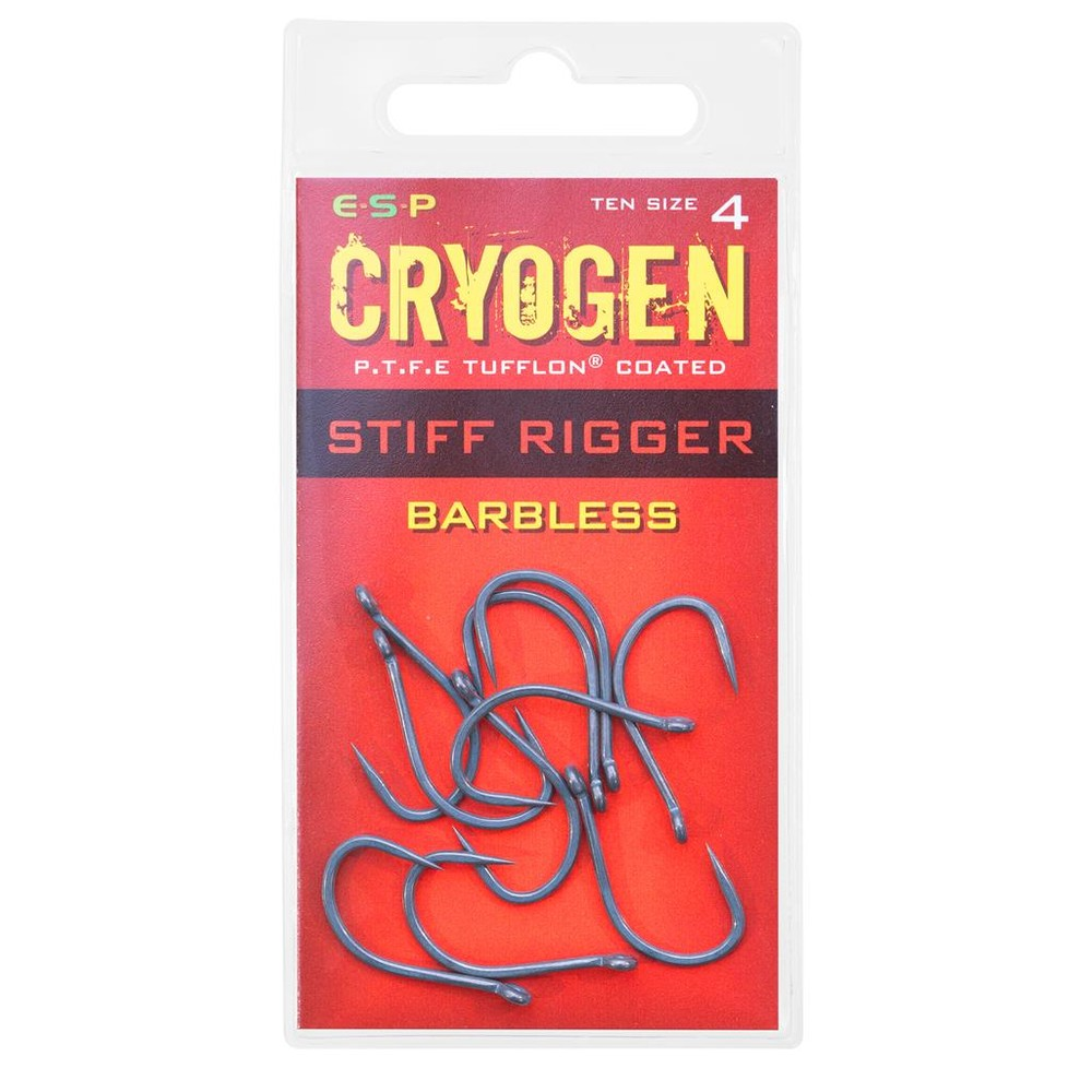 ESP Cryogen Stiff Rigger Hooks - Barbless