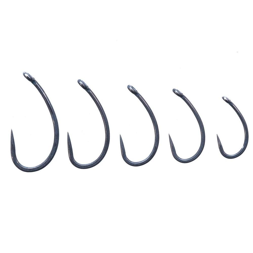 ESP Cryogen Curv Shanx Hooks - Barbless Charcoal