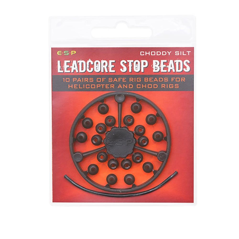 ESP Leadcore Stop Beads - Choddy Silt